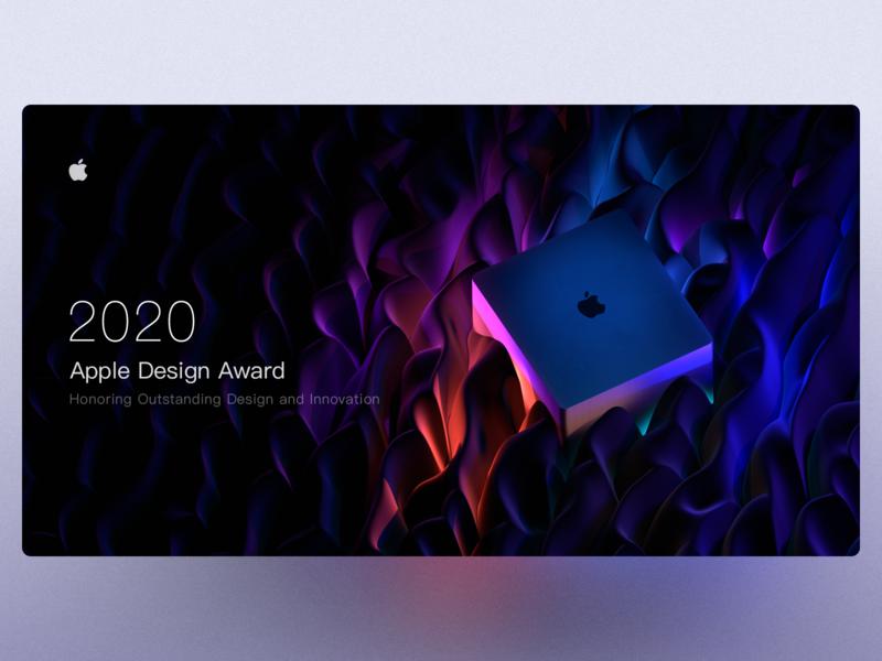 Apple Design Awards eevee blender3d 3d art blender award awards apple illustration webdesign web
