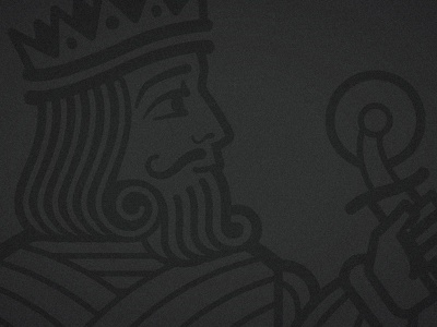 The King of Pizza logo royalty pizza king wip