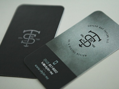Biz cards... still a thing? contact personal print business cards