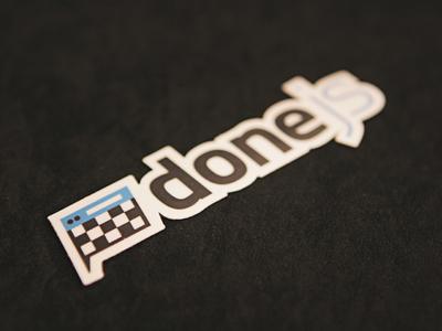 Done JS Sticker