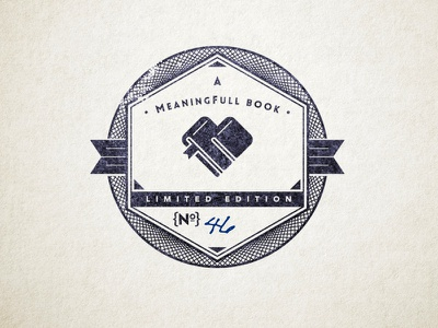 Small Batch Book Stamp meaningful literary boutique limited edition numbered small batch book stamp