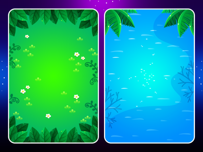 Marble Game: Background Ingame mobile design mobile ui match3 sea sand snow tree desert ice ocean forest illustration background uidesign ui game uiux game ui game design game art game