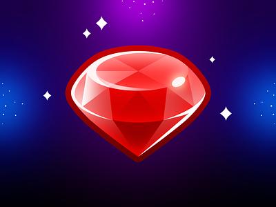 Marble Game: Diamond Icon design ui game uiux game icon game mobile mobile ui mobile design mobile illustration game ui game game design game art match3 gem jewelery jewel diamond icon design icon