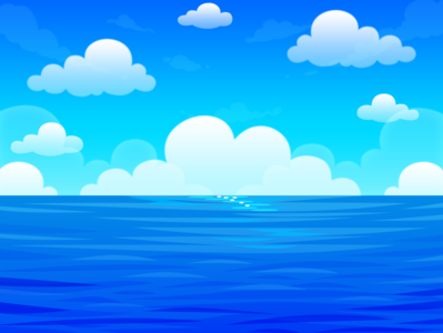 Blue Ocean Background
