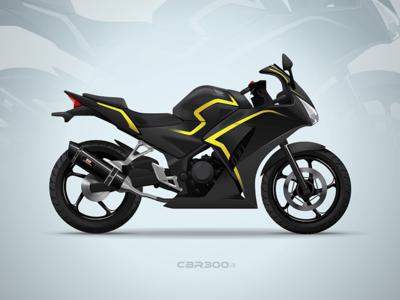 Vector Illustration of my bike