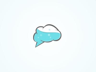 A Nixed Mark logo mark mindlab brain mind lab science cloud