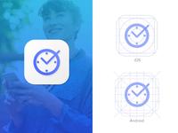 App Icon Design for Attendance App