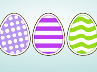CSS3 Animated Happy Easter Card