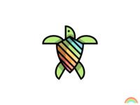 🌈 Rainbow Turtle