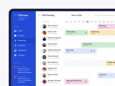 Roadmap — Planner app