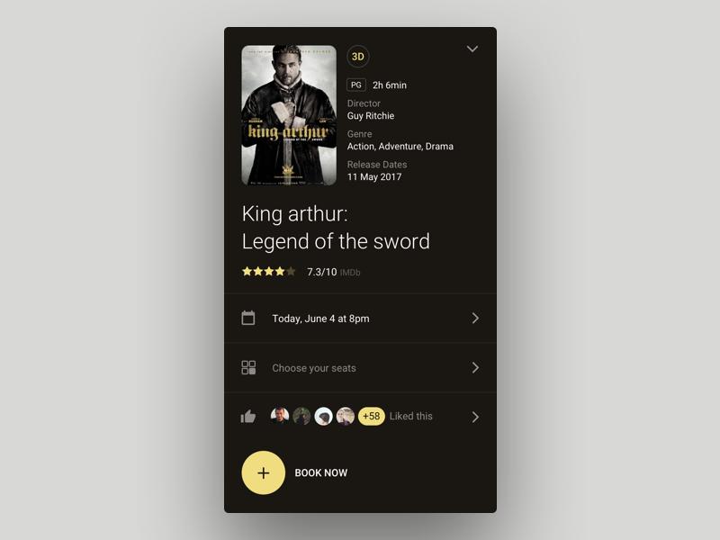 King Arthur dark gold likes like app book movie film cinema