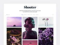 Shooter - A Minimalist Photography WordPress Theme