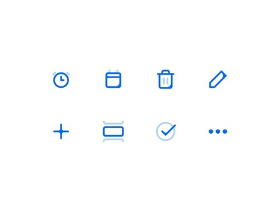 Icons — Tasker app