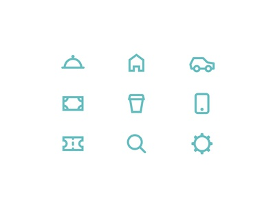 Icons for Personal Budget App