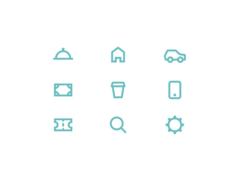 Icons for Personal Budget App green icons pack iconset ios app