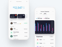 Incomes / Expenses — Banking app