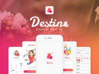 Destino Dating App UI KIT