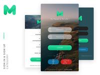 Mugen App Ui Kit SignIn-SignUp