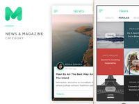 Mugen App Ui Kit - News