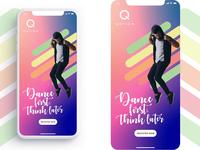 Quation app screen transition