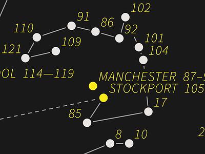 Constellation map dataviz data-viz data