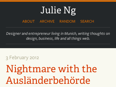 Mobile First Tumblr Theme mobile first typography tumblr blog theme personal