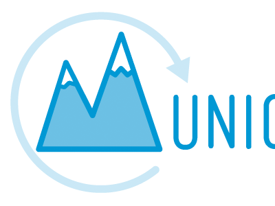 Refresh Munich Logo mountain logo