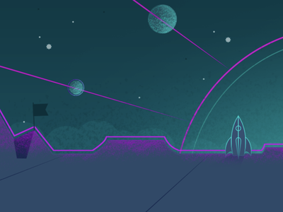 Another part of another planet space texture vector illustration
