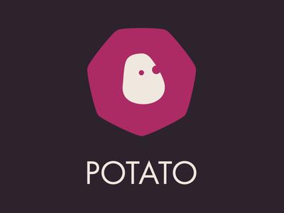 Our new logo potato logo illustration vector