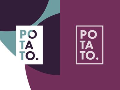 Ditched/rejected logo concept logo potato