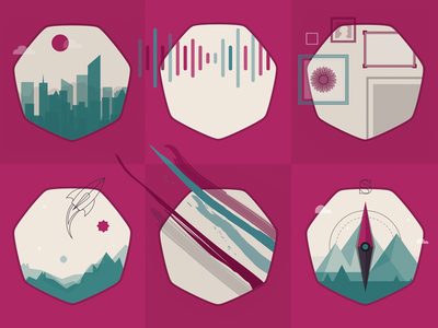 Project Icons icon illustration vector