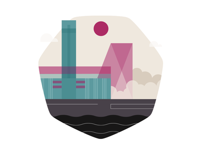 Tate Gallery App potato tate icon illustration vector