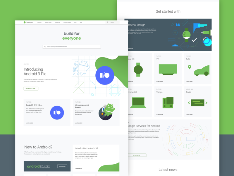 Android Developers: Wireframes ux ui illustration wireframes design web potato developers android google