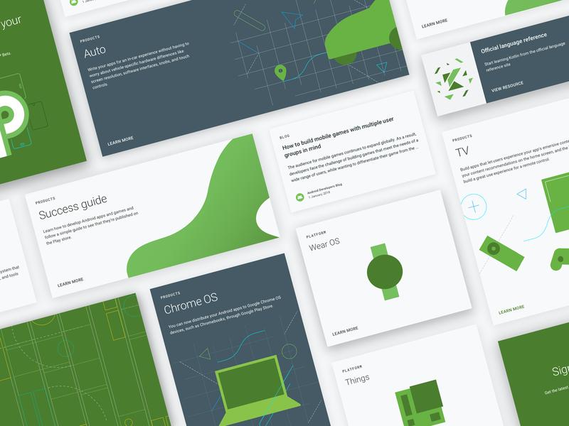 Android Developers: Platform cards ui card developers android google design web