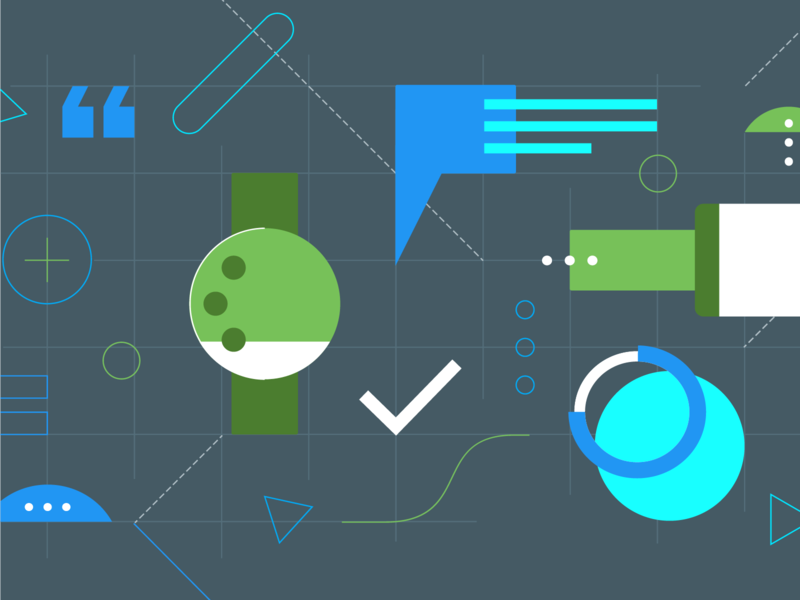 Android Developers: Material design illustration design material android google illustration