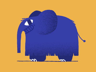 Mammoth illustration animation lana simanenkova animalators animade mammoth