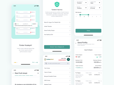 Osmanlı Menkul | Yatırım Direkt design ux ui app design app financial financial app finance app finances finance fintech app fintech investment investing investor invest