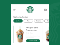 Starbucks App Redesign