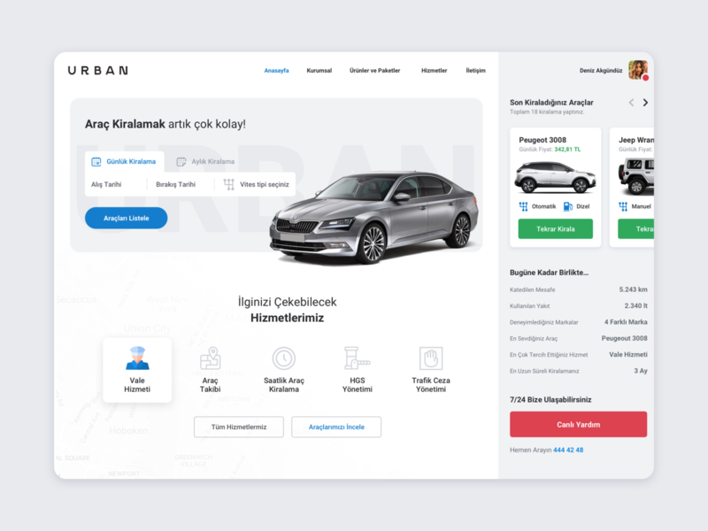 Rent a Car | Web Application ui  ux booking app booking rental app rent car app application web web design website subscribe car homepage landingpage ux ui minimal design rent a car rental car
