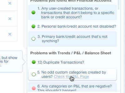 Auditor Checklist photoshop ui checklist status report financial finance accounting singapore