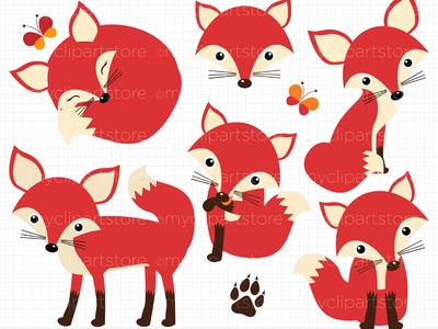 Clipart Fox