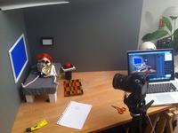Cut&Paste Superhero Puppet - Stopframe Animation