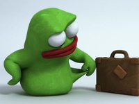 3D Plasticine Character created for BlaBlaCar