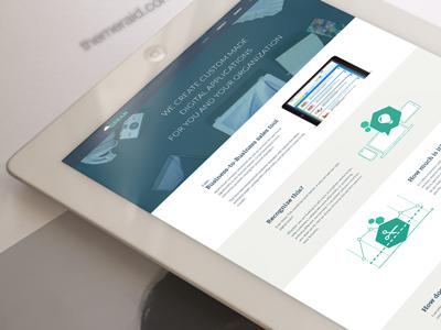 Grean Business Design creative web design business