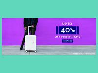 American Tourister - 40% off Sale