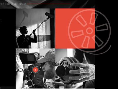 landing page /Nu Boyana Film Studios