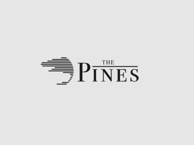 The Pines Concept Logo