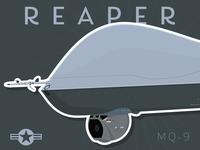 MQ-9 Reaper Art