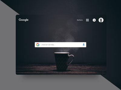 dailyUI #022 - Search homepage find google 022 daily ui ux dailyui search