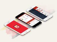 Official SANFL App - UI design